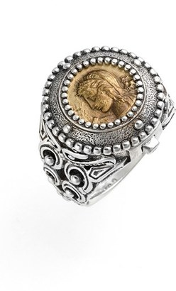 Women's Konstantino 'Arethusa' Hinged Coin Ring $550 thestylecure.com
