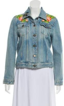 Gucci 2017 Needlepoint Denim Jacket