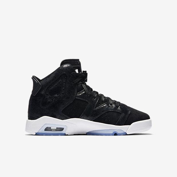 Air Jordan 6 Retro Premium Heiress Big Kids' Shoe 5