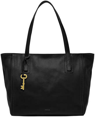 Fossil ZB6844001 Emma Double Handle Tote Black