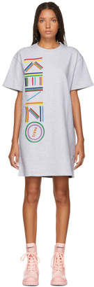Kenzo Grey Sport T-Shirt Dress