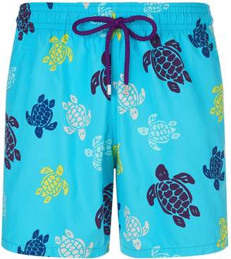 Vilebrequin Moorea Turtle Pattern Swim Shorts
