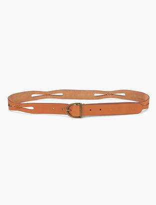 Lucky Brand Perforated Stitch Belt