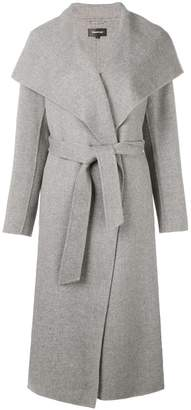 Mackage belted fitted coat