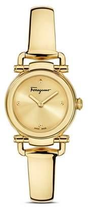 Salvatore Ferragamo Gancino Casual Gold Watch, 26mm