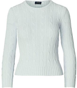 Polo Ralph Lauren Cable-Knit Crewneck Sweater $98.50 thestylecure.com
