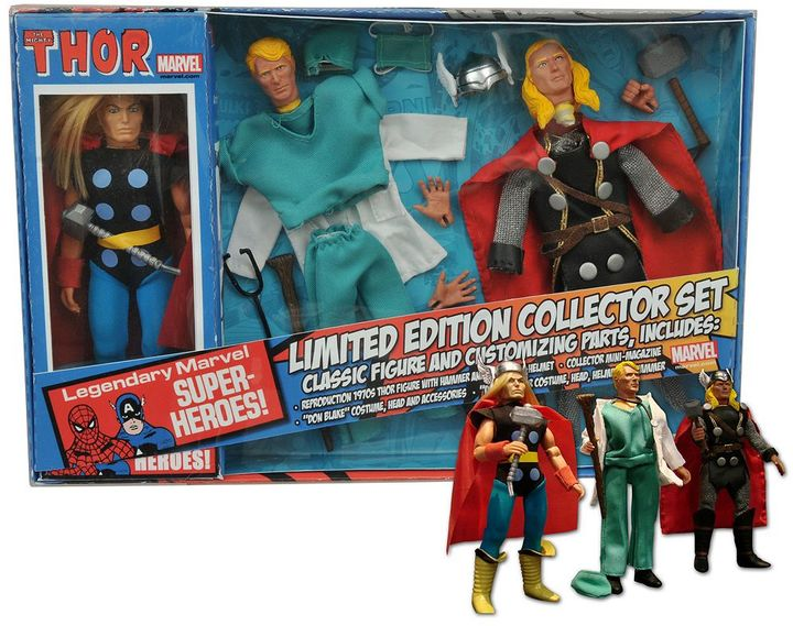 Diamond select toys Marvel Thor 8-in. Retro Action Figure Set by Diamond Select Toys