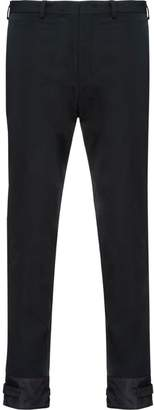 Prada stretch technical fabric trousers