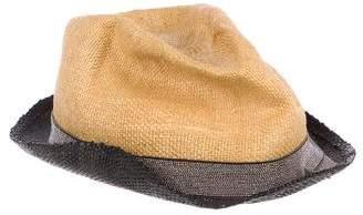 Brunello Cucinelli Monili-Embellished Fedora Hat