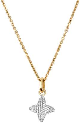 Links of London Yellow Gold and Diamond Splendour Pendant Bracelet
