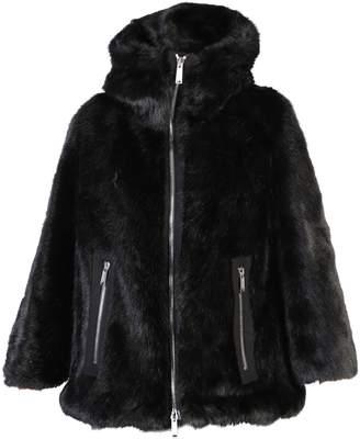 DSQUARED2 Black Zipped Jacket