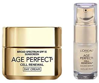 L'Oreal Age Perfect Cell Renewal Day and Cell Renewal Golden Serum