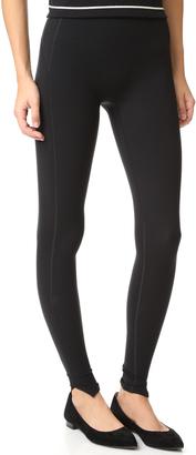 SPANX Every Wear Hem Slit Leggings $110 thestylecure.com