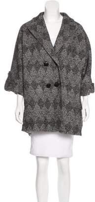 Diane von Furstenberg Bubbly Patch Short Coat
