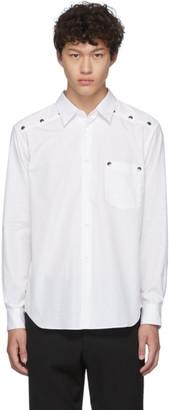 Comme des Garcons Homme Deux Homme Deux White Stud Shirt