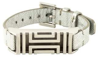Tory Burch For Fitbit Leather Bracelet