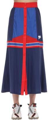 Nike Color Block Midi Skirt
