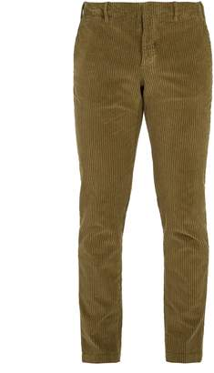 Incotex Slim-fit cotton blend corduroy trousers