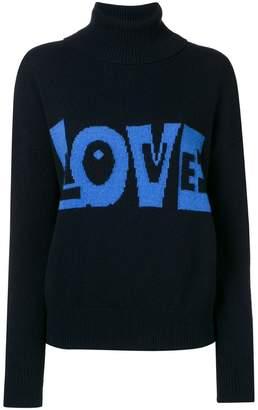 P.A.R.O.S.H. Love slogan jumper