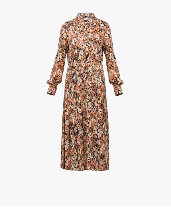 Prada Prada Printed Shirt Dress
