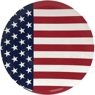 Americana Celebrate Together American Flag Dinner Plate