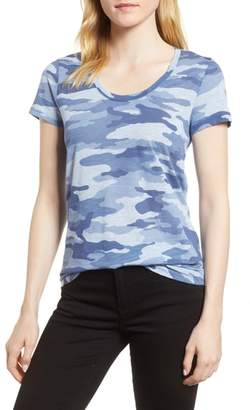 Vince Camuto Camouflage Print Tee