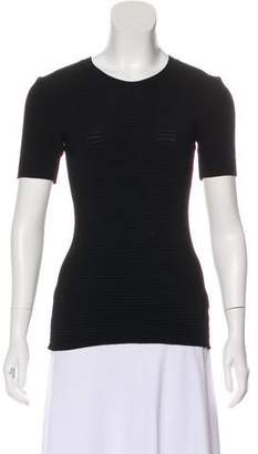 Fausto Puglisi Knit Short Sleeve Top
