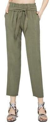 BCBGeneration Self-Tie Tapered Pants