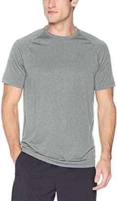 Peak Velocity Men's Tech-Vent Short Sleeve Odor-resistant Loose-Fit T-shirt