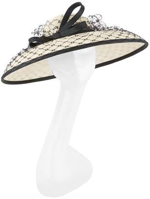 Rachel Trevor-morgan Veiled Bow Detail Hat