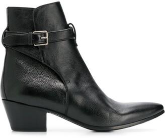 Saint Laurent West Jodhpur boots