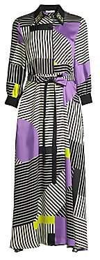Beatrice. B Women's Graphic Collared Maxi Dress