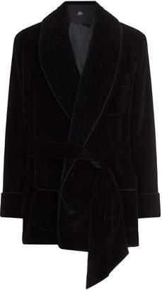 Daniel Hanson Quilted Collar Robe