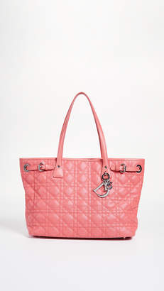 d048013dec86 Christian Dior What Goes Around Comes Around Pink Coated Canvas Panarea Bag