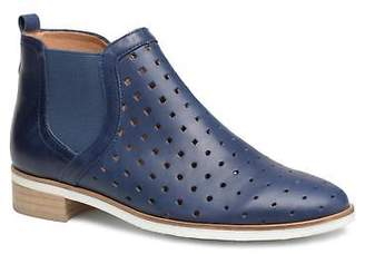 Karston Women's Jijou Rounded toe Ankle Boots in Blue