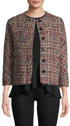 Alexander McQueen Multi Tweed Jacket