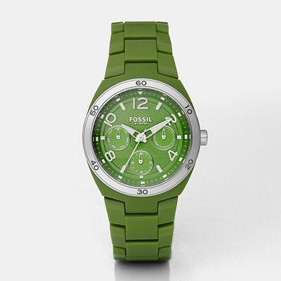 Berkley Green Multifunction Dial Watch