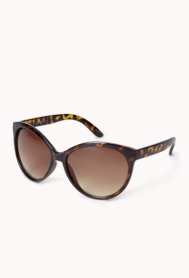 Forever 21 F0043 Oversized Cat-Eye Sunglasses