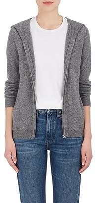Barneys New York Women's Cashmere Zip-Front Hoodie - Gray