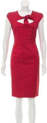 Lela Rose Cutout Sheath Dress Rose Cutout Sheath Dress