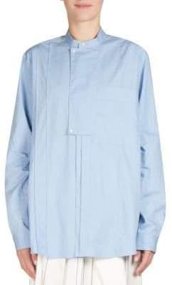 Cédric Charlier Poplin Bib Tunic Shirt