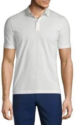 Giorgio Armani Short-Sleeve Polo
