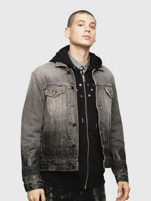Diesel Denim Jackets 089AU - Black - S