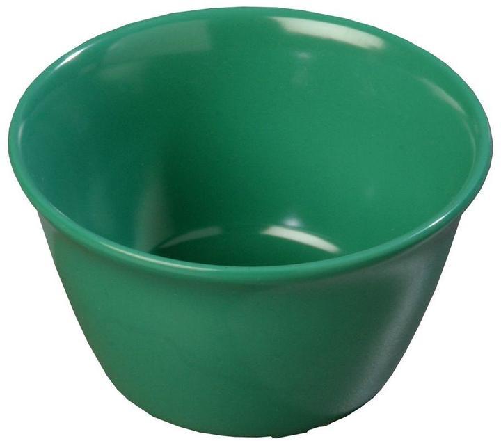 Carlisle 8 oz. 3.84 in. Diameter Meadow Green Melamine Bouillon Cup (Case of 24)