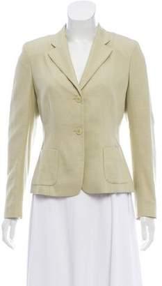 Luciano Barbera Wool & Silk Casual Blazer