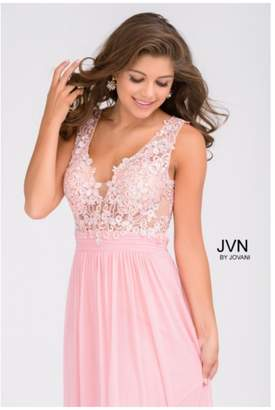 Jovani Lace Prom Gown