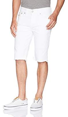 True Religion Men's Ricky Cut Off Short
