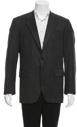 Prada Wool Pinstriped Blazer