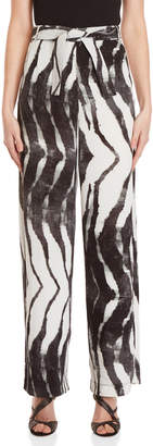 Religion Contour Printed Belted Pants