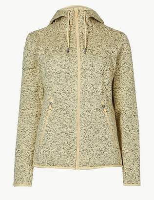 Marks and Spencer Knitted Fleece Jacket